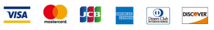 クレジットカード各社のロゴ