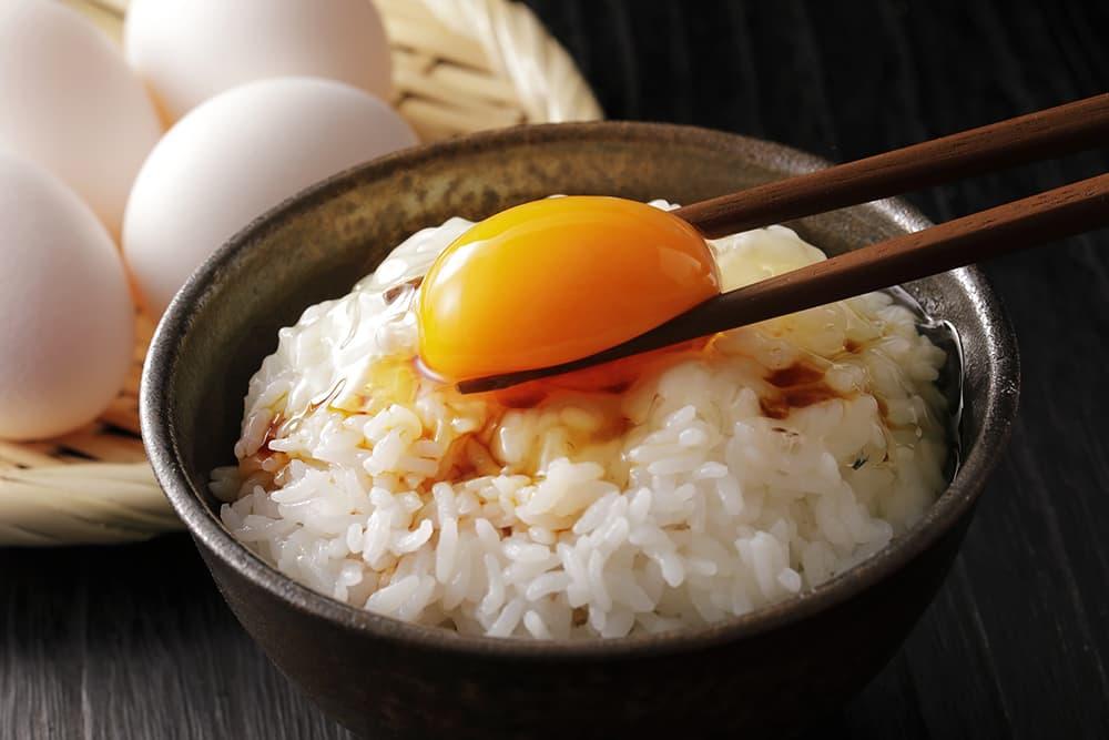 燻製しょうゆで卵かけご飯